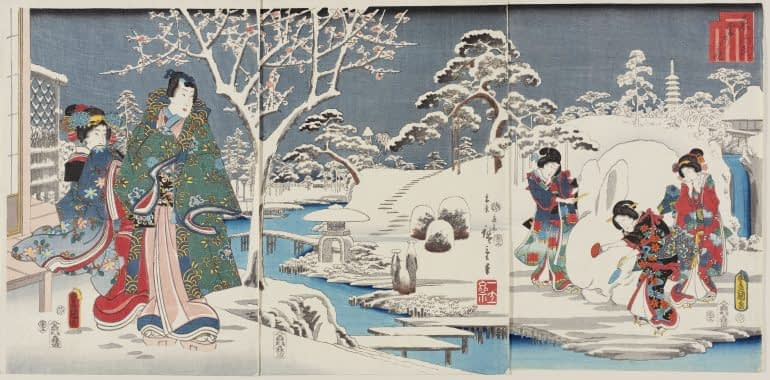 Hiroshige's Landscapes in Rome