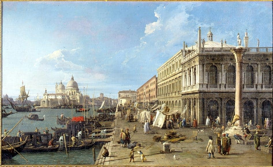 Canaletto's at Museo di Roma